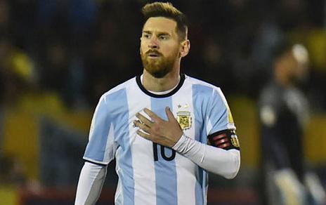 Lionel Messi On Argentina