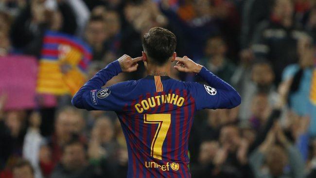 Pemain gelandang asal Barcelona, Philippe Coutinho membantah soal usaha dirinya yang menghina pendukung klubnya sendiri