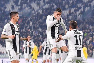 Cristiano Ronaldo on Juventus Jersey