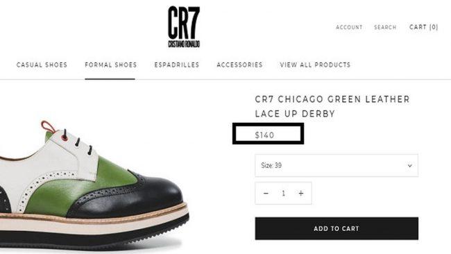 Harga Sepatu CR7