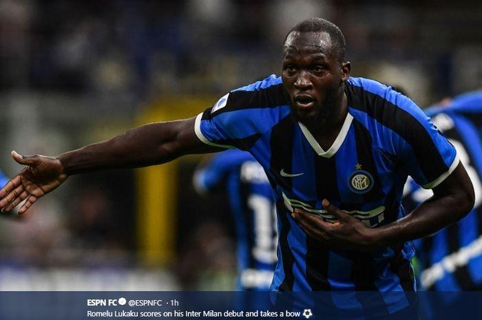 Lukaku Membuat Debut di Inter dengan Kemenangan